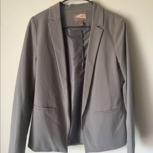 Forever 21 Contemporary Grey Blazer